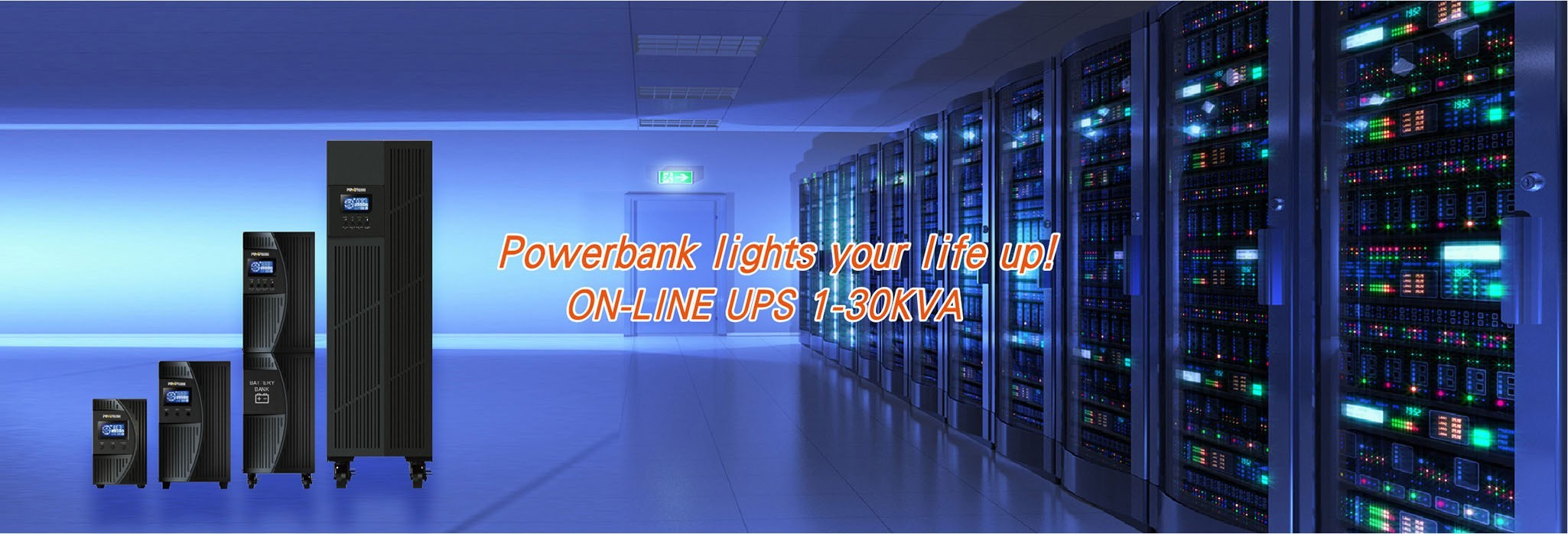 Powerbank lights your life up!